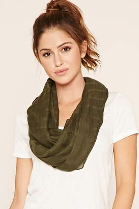 Forever 21 Woven Infinity Scarf