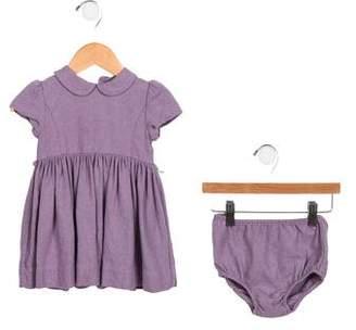 Ralph Lauren Girls' Woven Dress Set