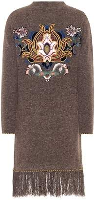 Etro Embellished wool and cashmere dress