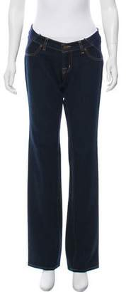 J Brand Maternity Low-Rise Jeans