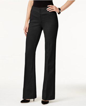 INC International Concepts Wide-Leg Ponte Pants, Only at Macy's $69.50 thestylecure.com