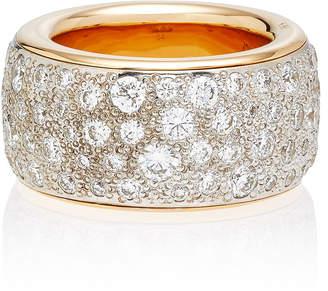 Pomellato Iconica Maxi Rose Gold Diamond Ring