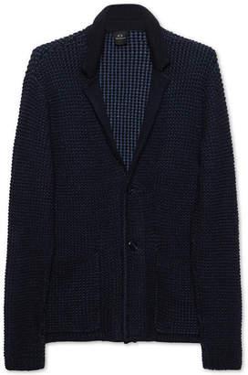 Armani Exchange Men's Textured Knit Sweater