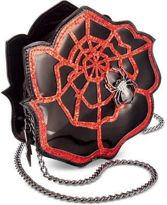 Betsey Johnson Rose Web Crossbody