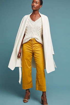 Anthropologie Cropped Chino Pants