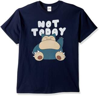 Pokemon Men's Snorlax Not Today T-Shirt