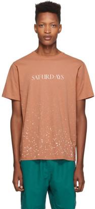 Saturdays NYC Pink Wash T-Shirt