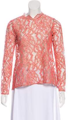 Alexis Long Sleeve Lace Blouse