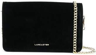 Lancaster logo plaque shoulder bag