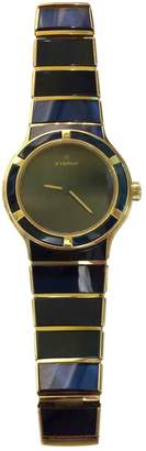 Eterna Vintage Blue Yellow gold Watches