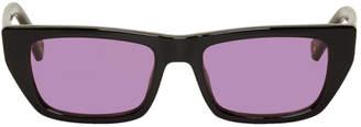 Le Specs Double Rainbouu Black Edition Cold Wave Sunglasses