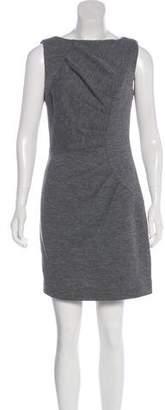 Milly Wool-Blend Mini Dress