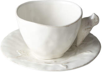 Horchow Bird on Branch Cups and Saucers, Set of 4
