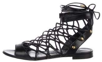Tom Ford Leather Gladiator Sandals