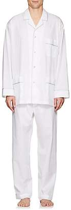 Barneys New York Men's Cotton Poplin Pajama Set - White