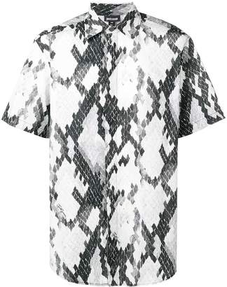 1ba2f3c9b8d52 Just Cavalli snakeskin print short-sleeve shirt