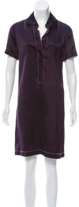 Reem Acra Short Sleeve Knee-Length Dress