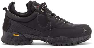 ROA Neal Lace Up Hiking Shoes - Mens - Black