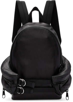 Alexander Wang Black Double Buckle Backpack