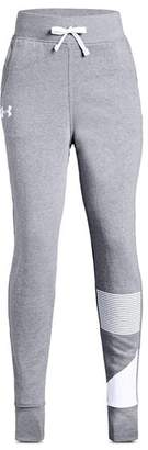 Under Armour Girls' Rival Fleece Jogger Pants - Big Kid