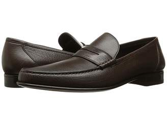 a. testoni Leather Moccasin Men's Moccasin Shoes