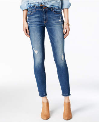 DL1961 Dl Florence Mid Rise Instascuplt Skinny Ripped Jeans