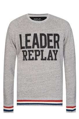 Replay ReplayLeaderPrintSweatshirt