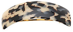 France Luxe Rectangle Volume Barrette, Ivory Tokyo 1 ea