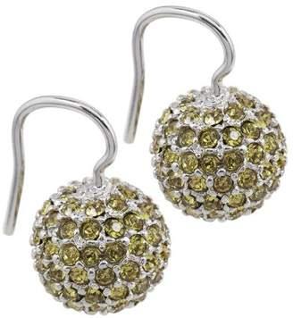 Burgmeister Jewelry JBM1108-226 Swarovski Crystal Silver Earrings
