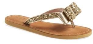 Kate Spade 'icarda' Glitter Flip Flop