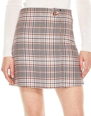 Sandro Wool-Blend Power Skirt