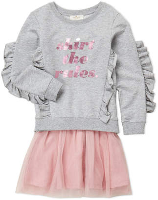 Kate Spade Girls 4-6x) Two-Piece Skirt the Rules Top & Tutu Skirt Set