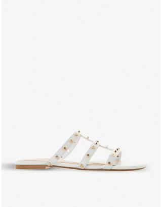 Dune Nashvill stud embellished leather sandals