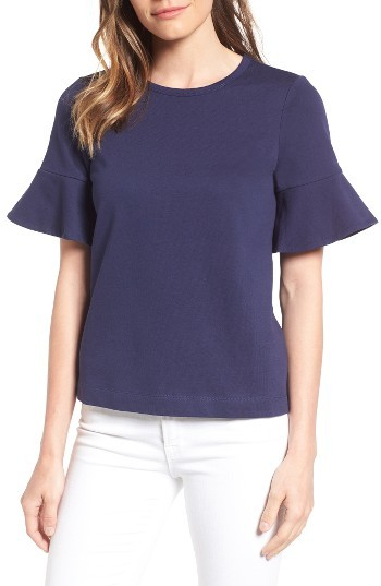 Women's Draper James Ruffle Sleeve Tee
