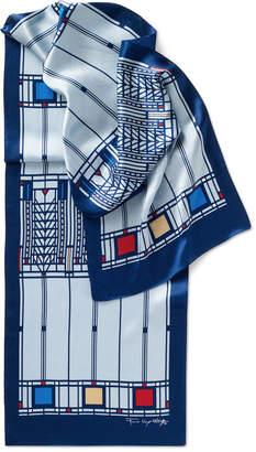MoMA STORE (モマ ストア) - MoMA STORE MoMA FLW ツリーオブライフ スカーフ ブルー