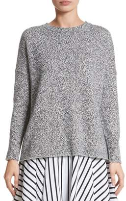 ADAM by Adam Lippes Marled Cotton, Cashmere & Silk Sweater