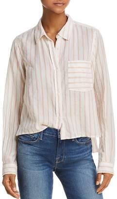 Current/Elliott The Georgia Striped Shirt