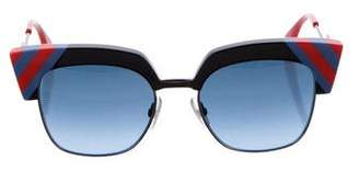 Fendi Waves Square Sunglasses w/ Tags