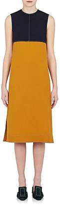 Marni Women's Colorblocked Crepe Shift Dress
