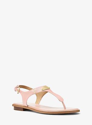 Michael Kors Saffiano Leather Sandal
