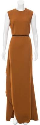 Lanvin 2015 Belted Maxi Dress 2015 Belted Maxi Dress