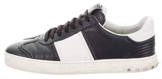 Valentino Leather Low-Top Sneaker