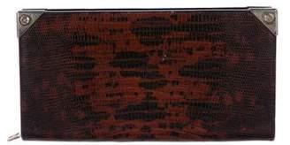 Alexander Wang Prisma Embossed Long Wallet