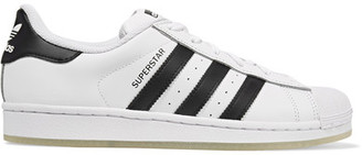 adidas Originals - Superstar Leather Sneakers - White $80 thestylecure.com