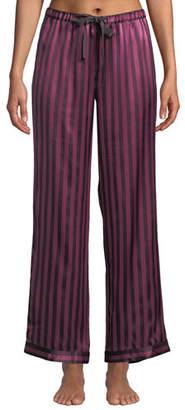 Morgan Lane Chantal Plumette Striped Pajama Pants