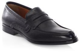 Bally Lauto Saffiano Leather Penny Loafers $495 thestylecure.com