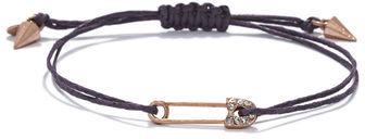 Rachel Roy Safety Pin Charm Bracelet