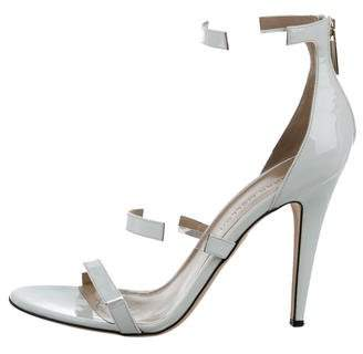 Tamara Mellon Multi-Strap Patent Sandals