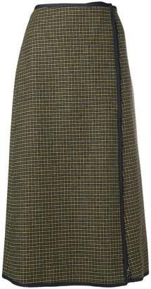 Sportmax checked skirt