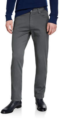 Ermenegildo Zegna Men's 5-Pocket Canvas Pants